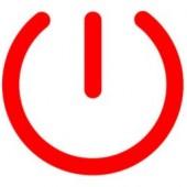 Symbolem dnia bez komputera jest symbol przełącznika on/off (graf. Shutdown Day)