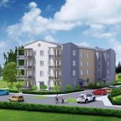 Wizualizacja bloków mieszkalnych przy ul. Staffa w Zgierzu
